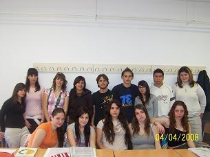 ALUMNADO GRIEGO Y LATÍN I- 2007/2008